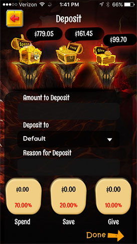 a screenshot of the DragonBank app